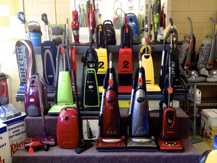Vacuums, Parts and Bags
